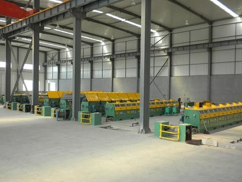 Pre - Straightened / Pre - Cut Welding Wire Machine With Take Up System Low Noise