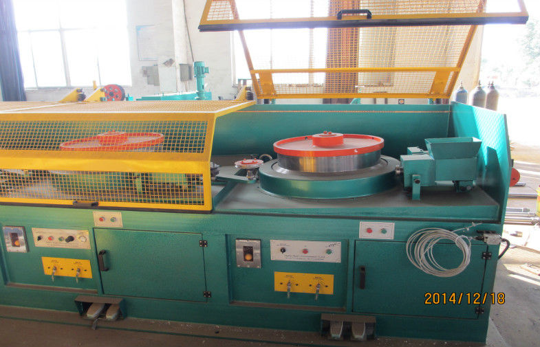 High Effiency Abrasive Belt Grinding Machine For Lamp Post Polishing 1100mm / Min Speed