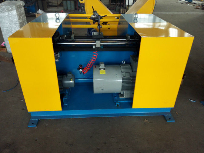 Speed Synchronization Steel Wire Spooler Machine , Wire Coiling Machine Torque Motor